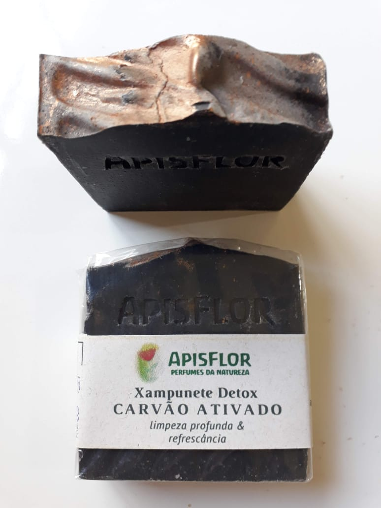 Shampoo em barra CARVÃO ATIVADO de Murumuru |APISFLOR - 90g