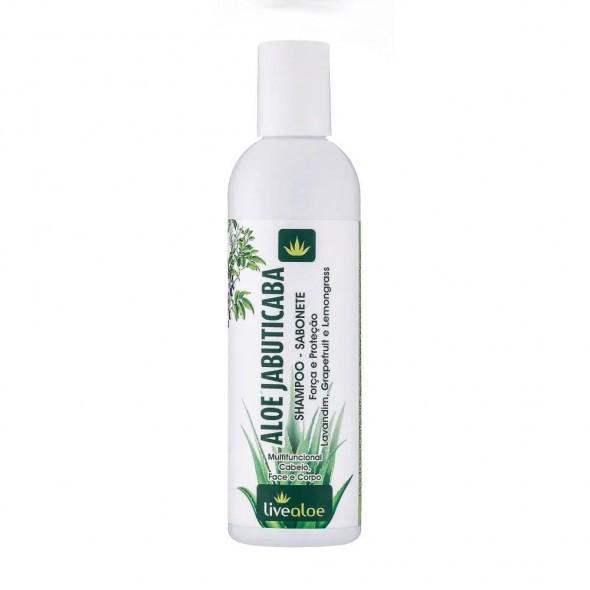 Shampoo - Sabonete Aloe Jabuticaba| Live Aloe - 240 ml