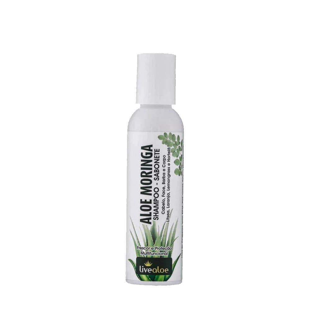 Shampoo - Sabonete Aloe Moringa | Live Aloe - 120 ml