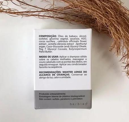 Shampoo Sólido Neutro| Herbia - 100g