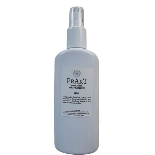 Spray Água Perfurmada FOCO FRESH| Prakt - 200ml