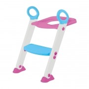 Assento C/ Redutor Escada Trono Infantil Vaso Sanitário Buba