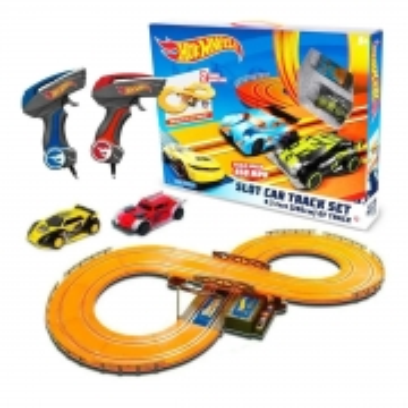 Autorama Hot Wheels Slot Car Track Set Pista 2,86m Multikids