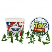 Balde de Soldados - 60 peças - Disney - Toy Story - Toyng
