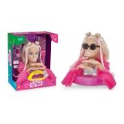 Barbie Busto Extra Styling Head C/ 12 Frases E Acessórios