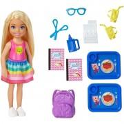 Barbie Chelsea Diversão Na Escola - Mattel Ghv80