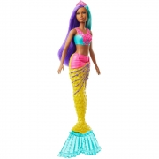 Barbie  Dreamtopia  Sereia - Calda Colorida Mattel