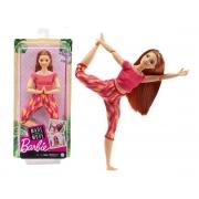 Boneca Barbie Articulada Feita P/ Mexer Ruiva Made To Move