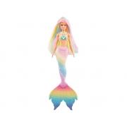 Boneca Barbie Sereia Muda De Cor Dreamtopia - Mattel Gtf89