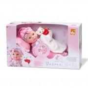 Boneca Bebê Dorme Baby Hora Do Soninho Bee Toys - 0890