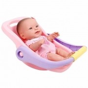 Boneca Com Bebe Conforto La New Born Brinquedo - Cotiplás