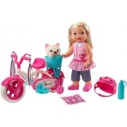 Boneca Little Mommy Meu Primeiro Passeio Mattel Loira