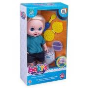 Boneco Babys Collection Come E Faz Caquinha 32cm - Supertoys
