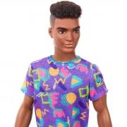 Boneco Ken Barbie Fashionista Negro Cabelo Afro 162 Mattel