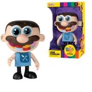 Boneco Totoy Kids Jose Comilão 19 cm Com Som Fala 10 Frases