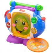 Brinquedo Cd Player Aprender E Brincar Fisher Price P5314