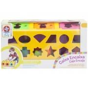 Brinquedo de Encaixe Caixa Encaixa -Estrela