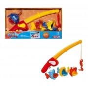 Brinquedo De Pesca Vara De Pescar Rosita Big Pescaria 9107