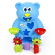 Brinquedo Didático Urso Aquático Com Ventosa Maral
