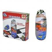 Brinquedo Joao Bobo Teimoso Corrida Divertida 87 Cm Dm Toys
