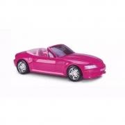 Carrinho Carro Conversível Para Boneca Barbie 46cm Roma