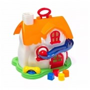 Casa Com Atividades Educativa Play Time Cotiplas Bebês