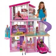 Casa dos Sonhos Barbie Mansão 3 Andares De Luxo C/ Acessório