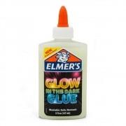 Cola Branca  Glitter  Brilha No Escuro 147ML Elmer's