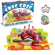 Crec Crec Festa De Aniversário Brinquedo Comidinha Big Star