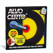 Jogo de Dardos Alvo Certo  - Cardoso