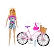 Lançamento Barbie Bicicleta Rosa Com Acessórios - Mattel