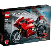 Lego Technic  Moto Ducati Panigale V4 R - 42107 - 646 Peças