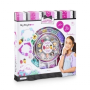My Style Pulseiras Sweet Candy Infantil 160 Peças Multikids