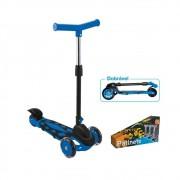Patinete Infantil Ajustável Menino 40 Kg Power Azul - Menino