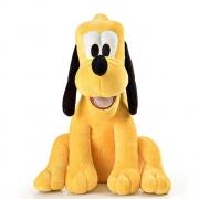 Pelucia Infantil Pluto Cachorro Mickey Mouse 30cm Multikids