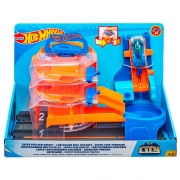 Pista de Manobras Hot Wheels City Play Set FNB15 - Mattel