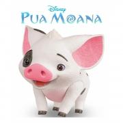 Porquinho Porco Da Moana Pua Articulado Em Vinil Disney