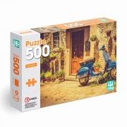 Puzzle Quebra Cabeça Scooter Vespa Itália 500 Peças