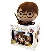 Quebra Cabeça 3d Harry Potter Puzzle 300 Peças Com Pelúcia