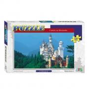 Quebra Cabeça Castelo Na Montanha Puzzle 260 Peças Nig