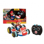 Super Mario Carro Controle Remoto Mario Kart Racer - Candide