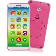 Telefone Celular Infantil Musical Baby Phone Rosa - Buba
