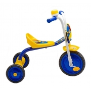 Triciclo Motoca Infantil Menino You Boy Amarelo/Azul Nathor