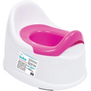 Troninho Penico Infantil Antiderrapante Buba Rosa 5800