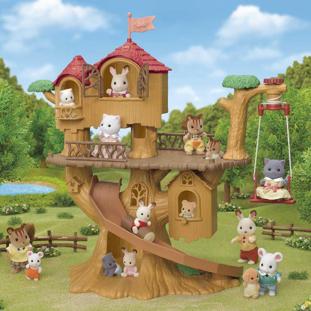 Aventura Na Casa Da Arvore Sylvanian Families - Epoch Magia