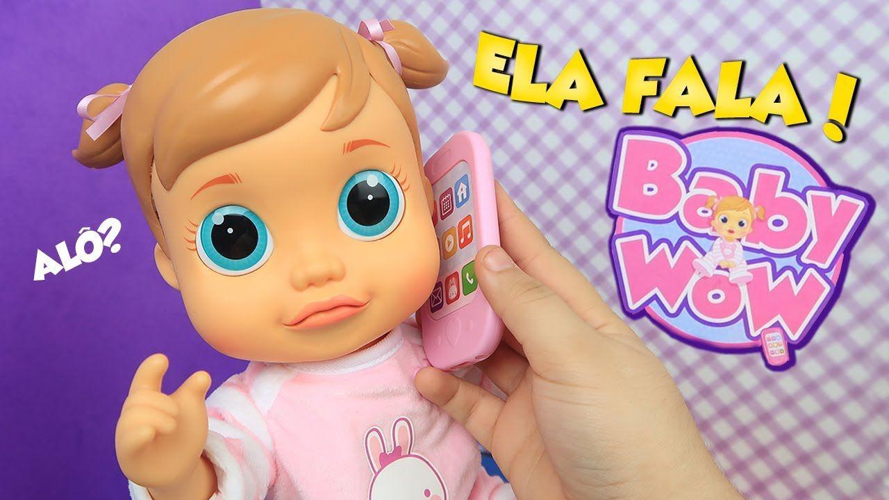 Boneca  Baby Wow Analu Que Fala Br732 - Multikids