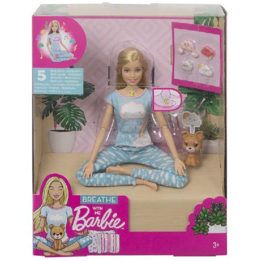 Boneca Barbie Medita Comigo Gnk01 Mattel