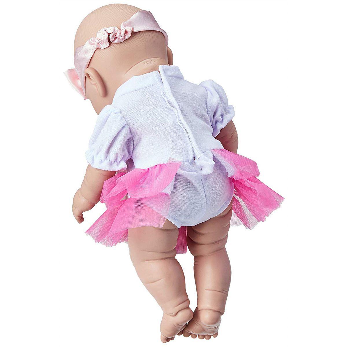 Boneca Bebezinho Real Newborn 34cm Menina com Acessórios