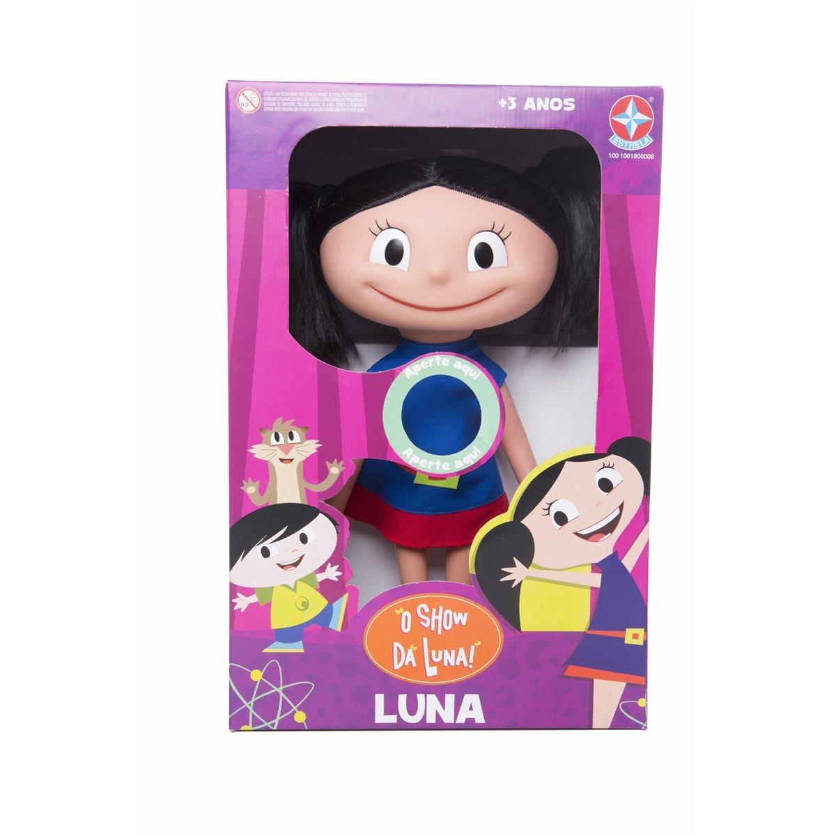 Boneca Luna - Show Da Luna - 40cm Com Sons - Estrela