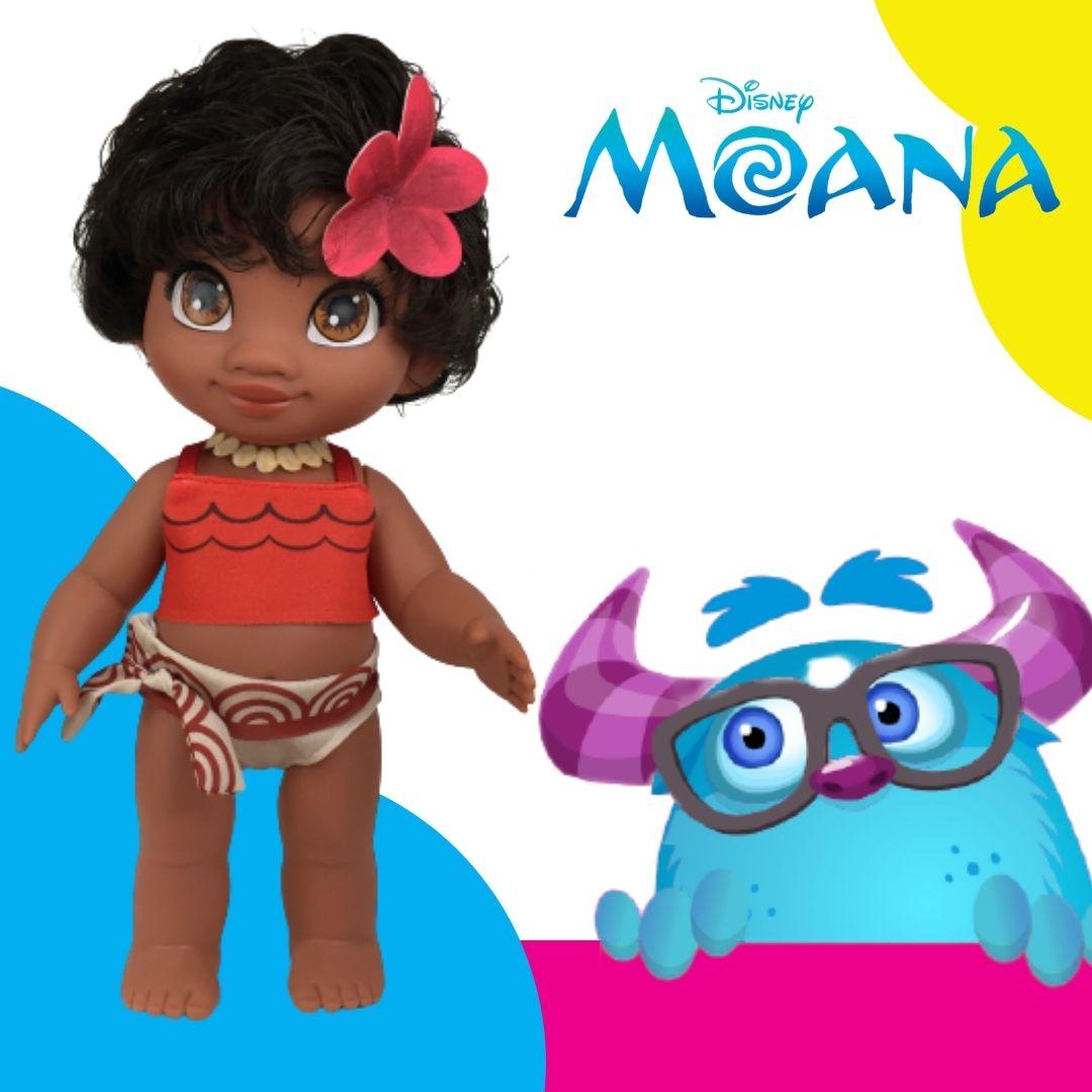 Boneca Princesa Moana Disney Bebê Baby 36 Cm 2504 Cotiplás